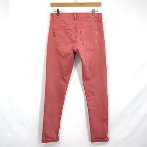 UNIQLO Skinny Jeans Low Rise Antique Coral A33
